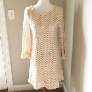 Altar'd State cream sweater dress